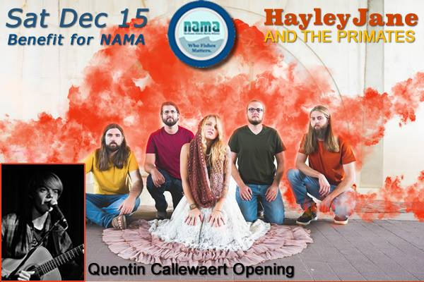 Hayley Jane and the Primates Fundraiser for NAMA