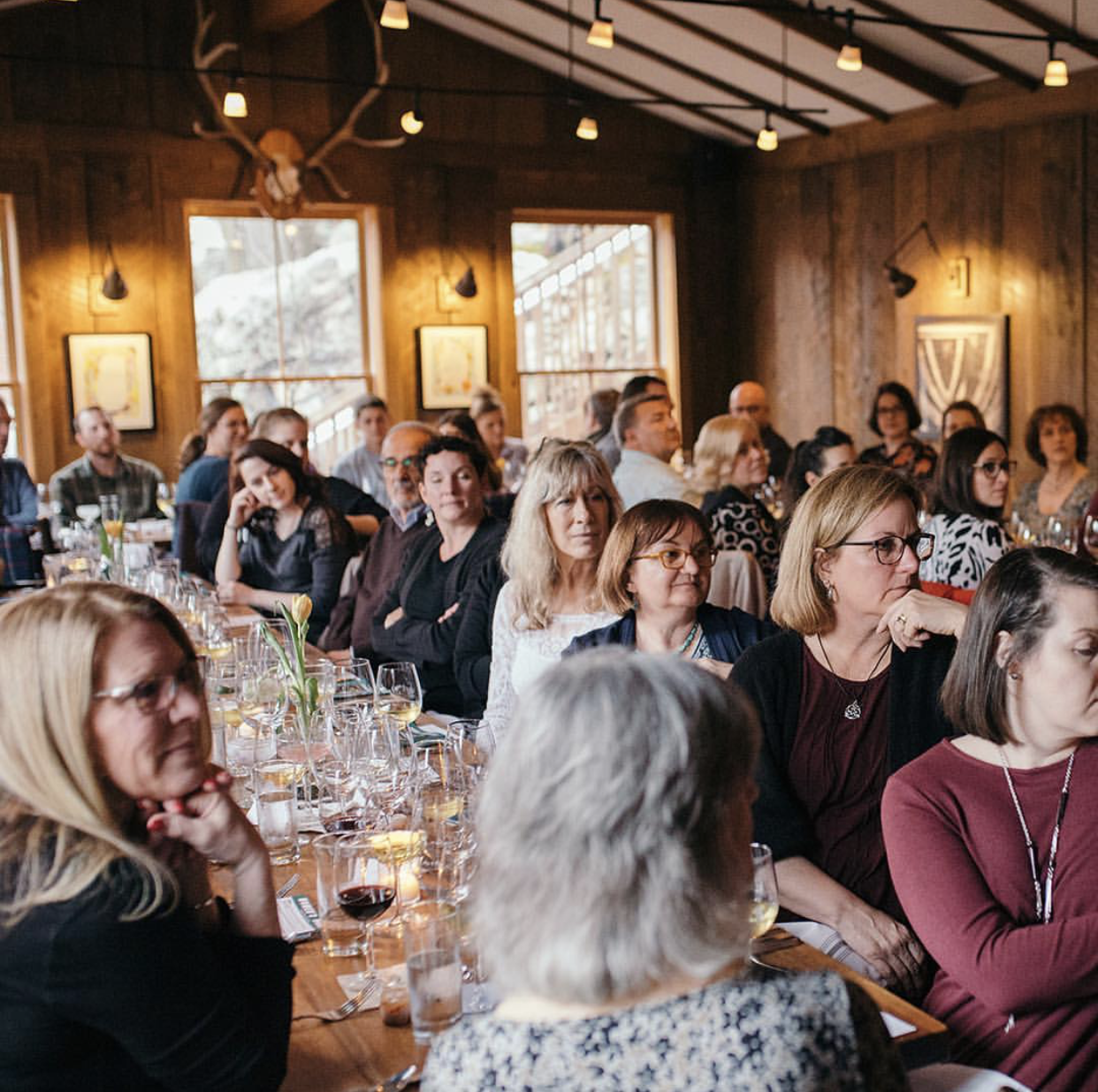 Women's Dinner at Oyster Club