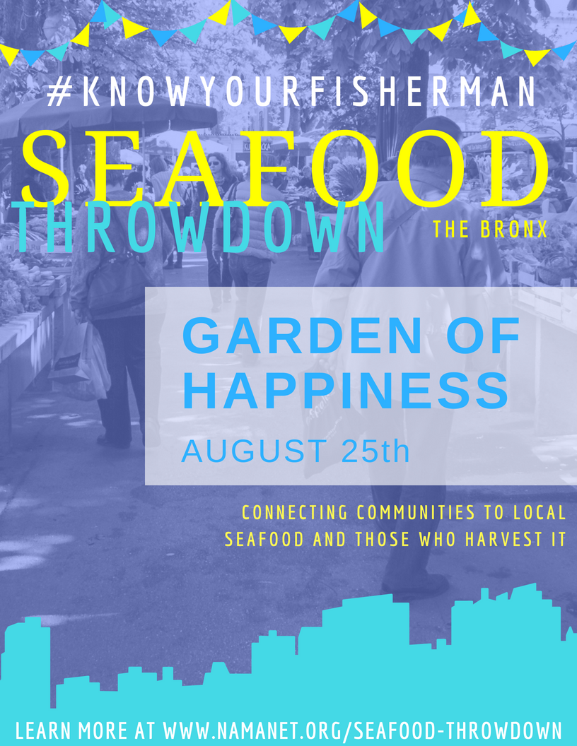 The Bronx Garden of Happiness Seafood Throwdown 2018