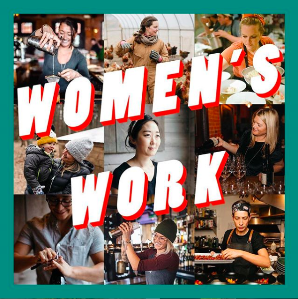 Women's Work panel discussion