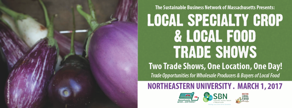 Flier for Local Food Trade Show