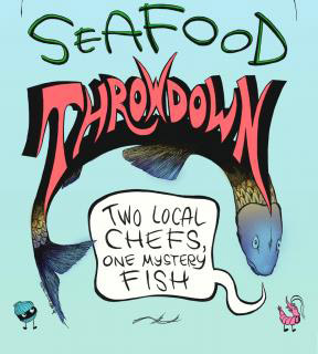 Seafood Throwdown Banner