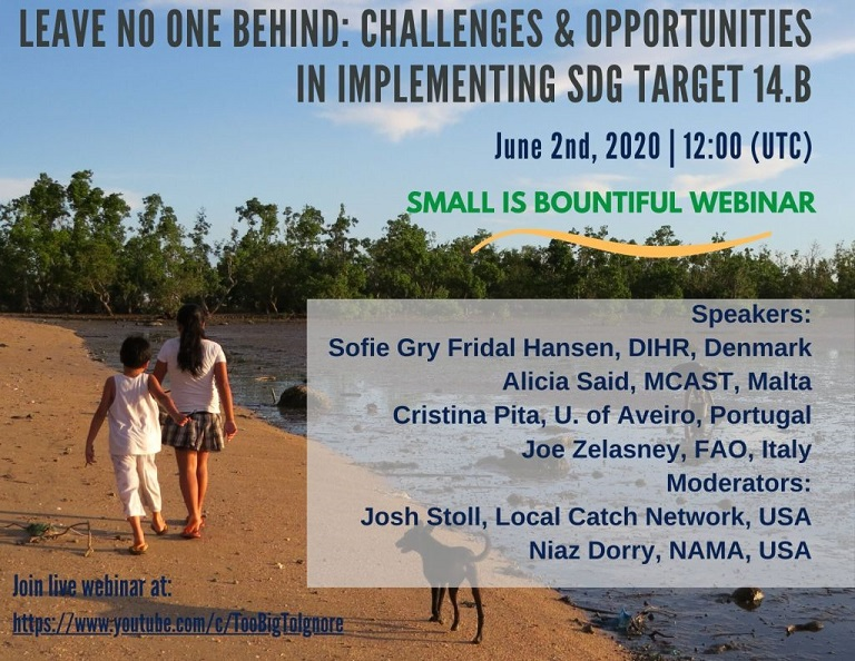 Small is Bountiful Webinar Series: Leave No One Behind