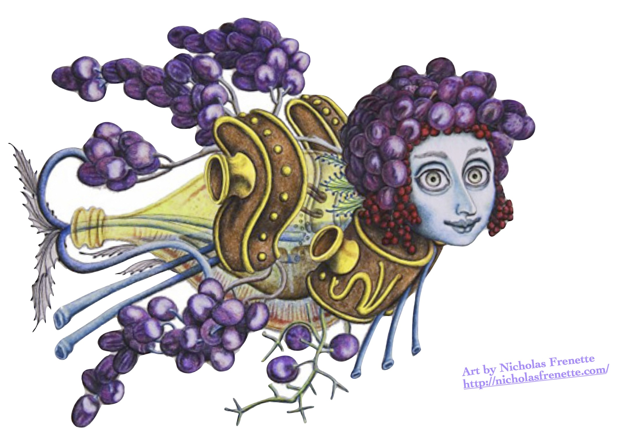 Wine Fish Image